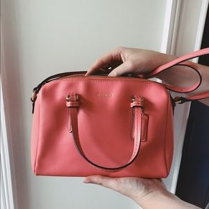 Coach Mini Coral Crossbody
